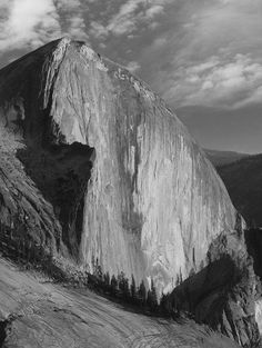 A nice B of Half Dome, from Mount Watkins.  Photo by Larry Harrell Fotoware