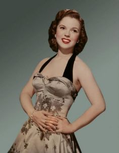 Shirley Temple as a young adult.