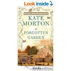 The Forgotten Garden by Kate Morton.  A lovely discovery thank you to my sister-in-law. Once you read one you will want to read all of Kate Morton's books. All a lovely, magical trip through time.