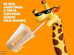 """Bob's x McDonald's: concorrência entra na """"guerra do Ovomaltine"""" Giraffas, KFC, Burger King e outras empresas usam a internet para faturar com a rusga entre as duas redes pela exclusividade no uso do nome do achocolatado"""