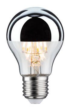 LED std 7,5 watts E27 calotte argentée