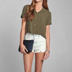 Womens Jessica Shirt   Womens Tops   Abercrombie.com