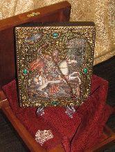 Икона, Чудо Святого Георгия о змии -а-