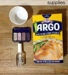 diy matte nail polish supplies