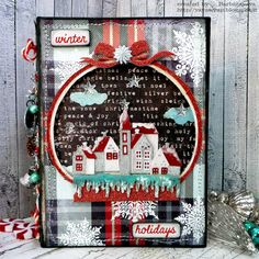 yaya scrap & more: TIM HOLTZ HOLIDAY INSPIRATION SERIES 2017 WINTER HOLIDAYS
