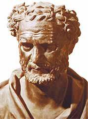 Heráclito de Éfeso, que tomó como principio al lógos, diciendo que el lógos tenía la naturaleza del fuego y que como el fuego, cambiaba y al cambiar generaba y destruía cuanto existe en el universo.