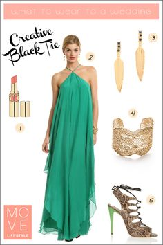 What to Wear to a Wedding | Creative Black Tie | Move LifeStyle