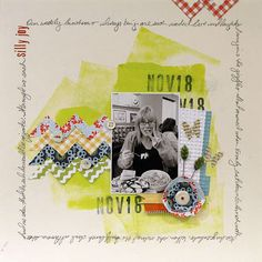 Layout: Lilly Joy by Ronda featuring Double Dutch from Lily Bee