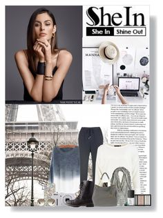 """sheinside contest entry"" by andy0008 ❤ liked on Polyvore featuring Nicole Trunfio, Nikon, Charlotte Russe, Clé de Peau Beauté, NARS Cosmetics, Prada, women's clothing, women's fashion, women and female"