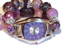 Passion for Purple Chunky Beaded Interchangeable by BeadsnTime, $30.00