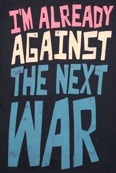 The truth about war would shock the average American... Neither for the spreading of democracy nor to liberate the oppressed and downtrodden of the world but instead for the furthering of profit and the NWO agenda!