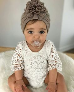 The sweetest baby girl - baby girl style, bohemian baby style Oh my goodness!!!