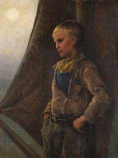 """""""Le Mousse"""" par Virginie Demont-Breton Mousse, July 5th, Painting, The Originals, Virginia, Sign, Oil, Top, Painting Art"""