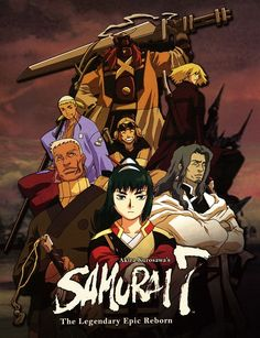 Samurai 7. (2004) Anime TV series. English Dub.
