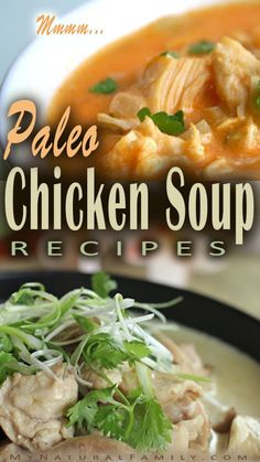 We have compiled this list of 40 different Paleo chicken soup recipes to make it easy for you to find a great recipes for your dinner! Chicken soup is soooooo g | See more about chicken soup recipes, chicken soups and paleo.