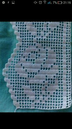 52 Ideas For Crochet Lace Heart Crafts - Diy Crafts - potitoo Crochet Boarders, Crochet Lace Edging, Thread Crochet, Crochet Doilies, Crochet Stitches, Crochet Patterns, Crochet Projects To Sell, Diy Crafts Crochet, Crochet Curtains