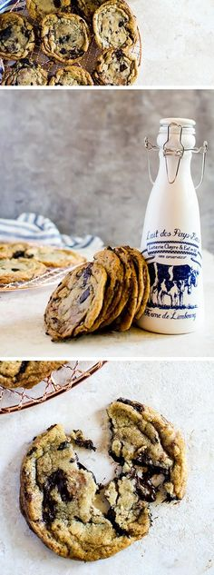 These CHOCOLATE CHUNK COOKIES are the best cookies you will ever try. Crisp on the outside, but chewy and gooey on the inside with pools of melted chocolate throughout