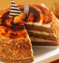 TORTA CARAMELO /CARAMEL CAKE