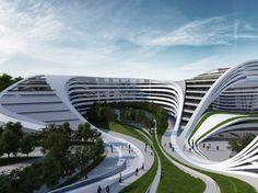 Zaha Hadid Building #Hadid #Zaha Pinned by www.modlar.com