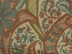 PRODUCT TYPE: FLORAL/SCROLL Fabric  MANUFACTURER: DOGWOOD   CATEGORIES:Linen #Fabric, Cotton Fabric , Natural Fabric , Luxury Fabric, Vintage Fabric, #Floral Fabric  P... #fabric #toile #printed #ikat #yardage #blue #supplies #floral #craft #upholstery #nature #leafs #ginger #porcelain