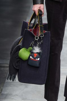 "Fendi F/W 2015 Menswear Milan Fashion Week "" a MINI monster backpack """
