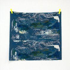 Japanese Fabric Nani Iro Spectacle canvas   good by MissMatatabi
