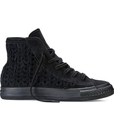 Converse Womens Chuck Taylor All Star Hi Black Sneaker  75 >>> Visit the image link more details.