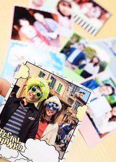 送料無料で20枚750円♡お気に入り写真をポラロイド風にプリントできる『インスタプリ』の活用アイデア♩にて紹介している画像