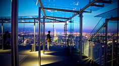 Montparnasse Tower. 56 floors with outdoor observation deck
