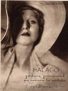 Halago perfume, 1934 by Gatochy, via Flickr