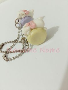 Handmade with love .. please follow ig @naname_nome #clay #jualclay #keychains #handmade