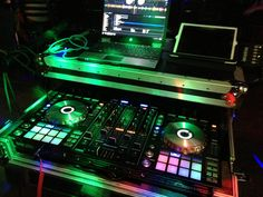 New Pioneer DDJ-SX with Serato DJ.... The best controller and software mix yet that I have found on the market!