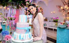 Azul Tiffany e rosa: confira a decoração incrível da festa da Caroline Santini