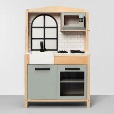 Kids' Wood Kitchen - Hearth & Hand™ with Magnolia Childrens Play Kitchen, Ikea Play Kitchen, Toy Kitchen, Kitchen Sets, Target Play Kitchen, Kids Furniture, Furniture Design, Bedroom Furniture, Plywood Furniture