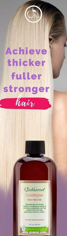 Damaged, weakened hair may benefit from the mineral and vitamin content in this conditioner so that hair is strengthened for less hair fall and a fuller look over time.