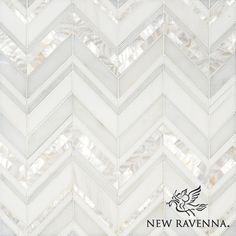 Magdalena, a handmade mosaic shown in polished Shell, Thassos, Dolomite and Afyon White, is part of the Aurora™ Collection by Sara Baldwin for New Ravenna.-this is my backsplash! Kitchen Tiles, Kitchen Design, White Kitchen Backsplash, Backsplashes With White Cabinets, Kitchen White, Granite Kitchen, Kitchen Floor, Kitchen Paint, Home Renovation