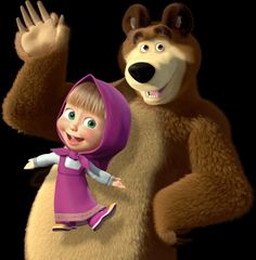 Masha Masha And The Bear Wallpaper X Pictures To Pin On Cartoon Bar Bar