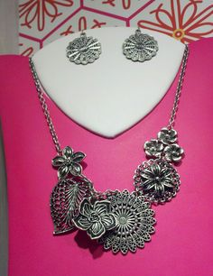 """Botanical is our top seller! N is 16"""" w/ 4"""" extender $27, E $19  I wear this necklace with everything! I'm so excited about matching earrings! Let me know if you want this for free!"""