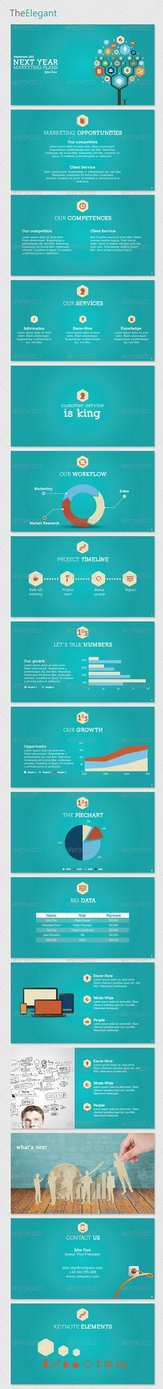 124 best keynote themes templates images on pinterest keynote buy theelegant keynote template by improvepresentation on graphicriver clean elegant and modern business presentation template for keynote toneelgroepblik Images