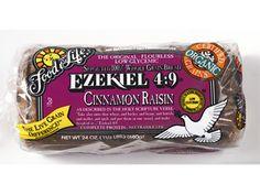 Ezekiel 4:9 Sprouted 100% Whole Grain Flourless Cinnamon Raisin...awesome with the cinnamon raisin peanut butter with honey...YUMMY!