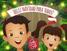 ¡ Feliz Navidad para todos! #navidad #felixysofi