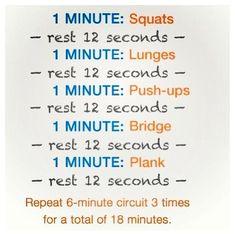 Summer workout plans