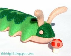 Caterpillar pdf pattern and many other animal patterns