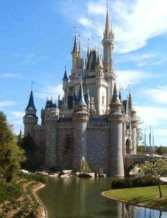 Disney Castle, USA.