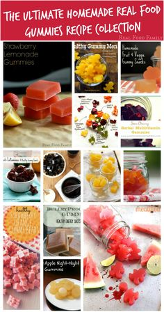 The Ultimate Homemade Real Food Gummies Recipe Collection ~ Real Food Family