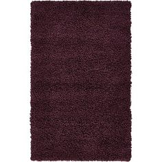 Create a perfect appearance to your home decor by laying this Unique Loom Solid Shag Taupe Runner. Naturally stain resistant and resists fading. Round Area Rugs, Modern Area Rugs, Grey Runner, Synthetic Rugs, Mid Century Modern Decor, Eggplant Purple, Braided Rugs, Rug Material, Modern Colors