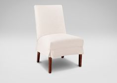 Buy Ethan Allen's Thomas Slipcovered Side Chair or browse other products in Side Chairs. Dining Room Chairs, Dining Room Furniture, Side Chairs, Home Furniture, Furniture Design, Custom Furniture, Slipcovers, Accent Chairs, Upholstery