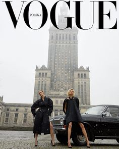 Malgosia Bela and Anja Rubik by Juergen Teller Vogue Poland March 2018 25 covers Vogue España December by Michaelangelo Di Battista. Vogue Italia March by Steven Meisel. Vogue Paris February and April by Ruven Afanador. Vogue Italia June by S… Vogue Vintage, Vintage Vogue Covers, Look Vintage, Vintage Ideas, Vintage Fashion, Juergen Teller, Anja Rubik, Foto Fashion, Vogue Fashion