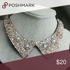 False Collar Choker Simulated Pearl False Collar Choker Simulated Pearl Jewelry Necklaces