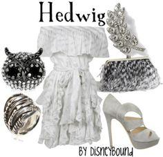 Hedwig  by Disneybound
